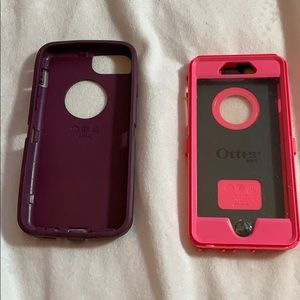 Otter Pink/Purple I Phone Case 6s (smaller one)